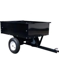 Remorca usoara pentru agricultura sau gradinarit, adaptabila la motocultoare mici de 7CP