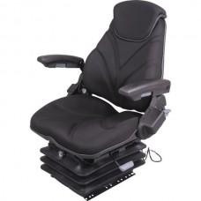 Scaun cu suspensie pe perna de aer, din material textil rezistent la uzura