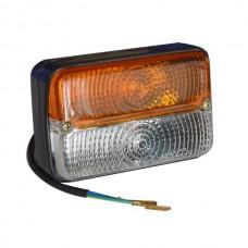 Lampa semnalizare fata pentru tractoare John Deere 6800 6900, AL75641, AL75642